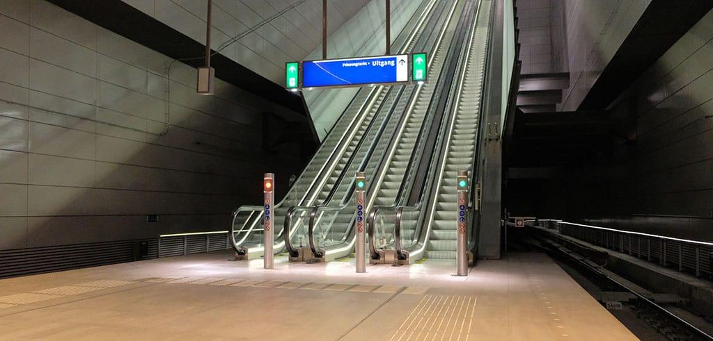 Escalator removals